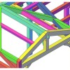 Timber Frame 3D Design