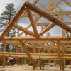 Timber Frame Raising 03