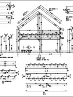 Timber Frame Bent Shop Drawings