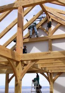 Timber Frame Enclosure