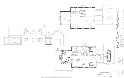 Mogollon Rim Timber Frame Floor Plan