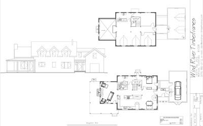 Mogollon Rim Timber Frame Floor Plan