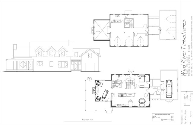 Mogollon Rim Floor Plan
