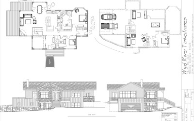 Oak View Timber Frame Floor Plan