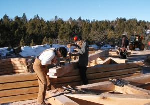 Hand Cut Timber Frames 01