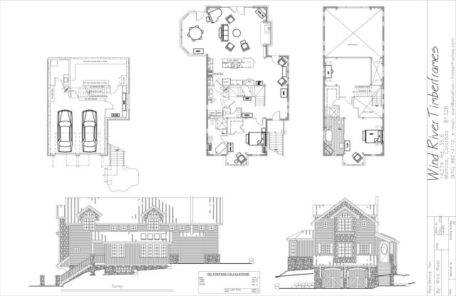 Ouray Timber Frame Floor Plan