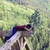 Frame Raising Pine Bough 09