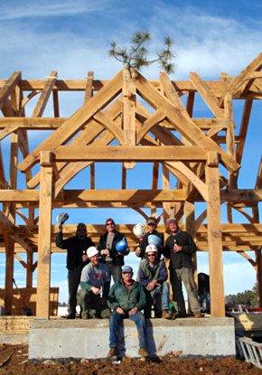 Frame Raising Pine Bough 04