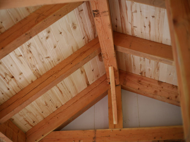 Tongue Groove Ceiling Installation Wind River Timberframes