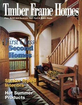 Timber Frame Homes July 2001