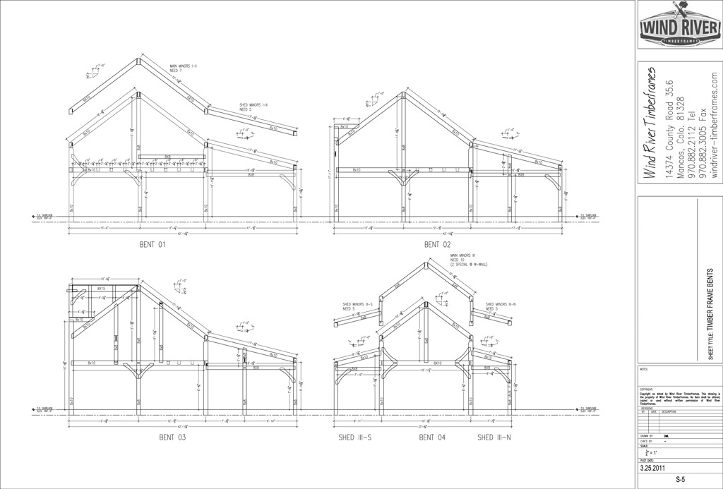 Fontainebleau State Park 14x16 Timber Frame Plan 10161
