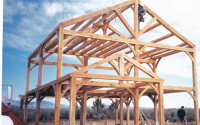 Griwatz Timber Frame Raising