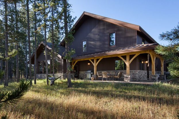 West Yellowstone Timber Frame Home Featured In Timber