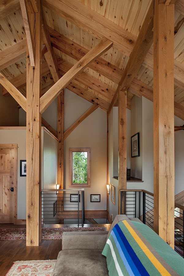 West Yellowstone Timber Frame Home