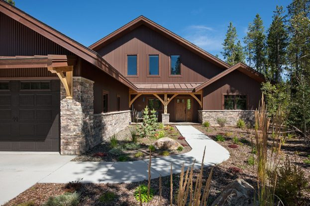Morrison Timber Frame Home, West Yellowstone