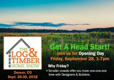 Denver Log & Timber Home Show