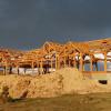 Timber Frame Raising 06
