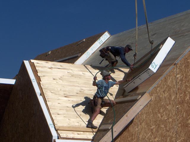 SIPs Roof Enclosure