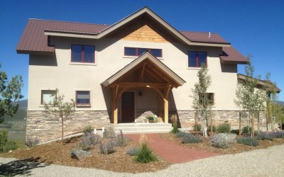May Residence | Wind River Timber Frames