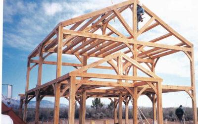 Griwatz Timber Frame Raising