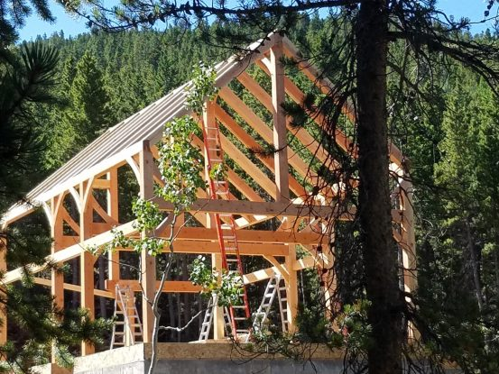 Simple timber frame house plans home design 2017 - Timberframe house plans elegance of simple designs ...